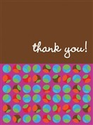 6442 Thank You Card - Dots (Pack of 50)