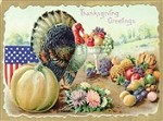 7312 Thanksgiving Card - American Thanksgiving (Pack of 50)